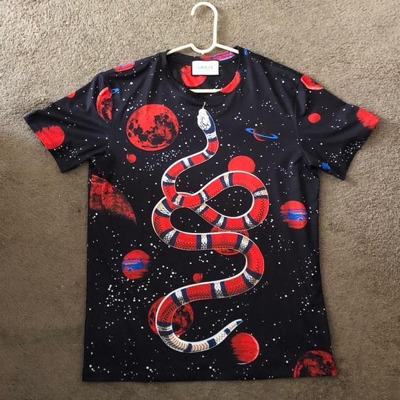 5de15d850 Gucci Shirts   Ua Fw17 Space Snake Jersey Tee   Poshmark